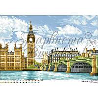 """Схема для вышивки бисером (пейзаж) """"Большое сердце Британии. Лондон"""""""