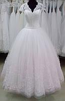 """Свадебное платье """"МБ 16-02"""" (юбка - высокая вышивка)"""