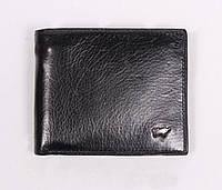 Мужской кожаный кошелек  Braun Buffel, в черном цвете