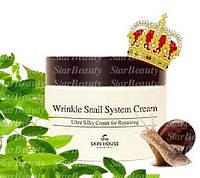 Улиточный крем Skin House Wrinkle Snail System Cream- волшебство в банке!