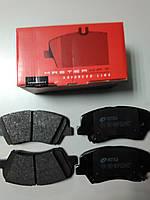 Тормозные колодки передние на Hyundai Elantra MD