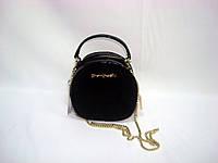 Женская черная маленькая сумка Shengkasilu