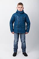 """Элегантная классическая демисезонная куртка для мальчика с карманами """"Калифорния"""""""