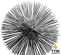 Щётка металлическая для чистки дымохода 550 мм
