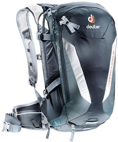 Туристический прочный мужской рюкзак DEUTER Compact EXP 16, 3200315 7410 черный