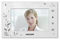 Видеодомофон KCV-A374SD White, фото 1