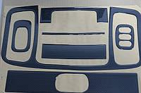 "Декоративные накладки салона  ""карбон""  на Renault Trafic  + Opel Vivaro 2001->  —  Турция"