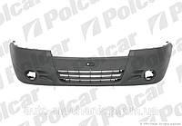 Бампер передний на Opel Vivaro  2006-> (под противотуманки) - Polcar (Польша) - 60270714J