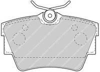 Тормозные колодки задние на Renault Trafic  2001->  — Ferodo (Великобритания) - FVR1516