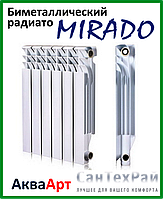 Биметаллический радиатор MIRADO 500х100