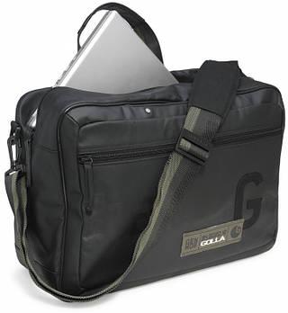 """Функциональная сумка из хлопка Golla Frisco Function 16"""" Black G1282"""