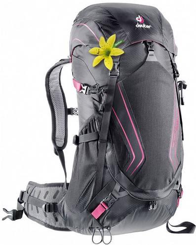 Женский прочный туристический рюкзак 32 л. DEUTER SPECTRO AC 32 SL, 34832 7505 черный