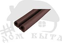 Уплотнитель для окон и древей SANOK D(14*12)коричневый