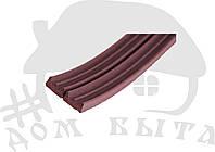 Уплотнитель для окон и древей SANOK Е(9*4) коричневый