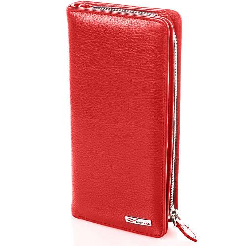Восхитительный женский кожаный кошелек Desisan SHI321-1 красный