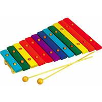 Детский музыкальный инструмент Ксилофон Д046у Руди, 12 тонов