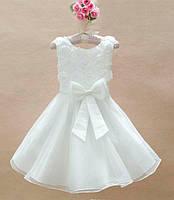 Нарядное детское платье на девочку