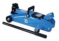 Домкрат подкатной 2 т (Н=140-340 мм) с поворотной ручкой (пластиковый кейс) (Unitraum UN820033)