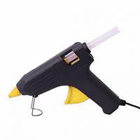 Клеевой пистолет Expert Glue ME-02, под клей 11мм, 80W, черный