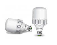 Лампа светодиодная EUROLAMP LED 40W E40 6500K 4000 Lm высокомощная промышленная (LED-HP-40406)