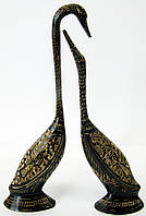 Статуэтка Лебеди пара бронзовые