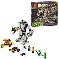 Конструктор Нападение робота Бакстера Bela 10209 Ninja Turtles