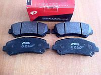 Колодки тормозные передние Nissan X-Trail, Nissan Qashqai, Renault Koleos (Remsa)