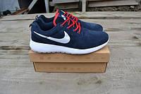 Крутые кроссовки Nike Roshe Run замшевые