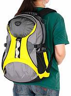 Рюкзак городской молодежный 25 л. Onepolar (Ванполар) W1056-yellow желтый