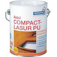 Толстослойная лазурь на водной основе с акрил-полиуретаном Compact-Lasur PU