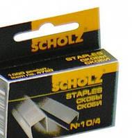 """Скобы для степлера """"Scholz"""" № 10, 1000 шт."""