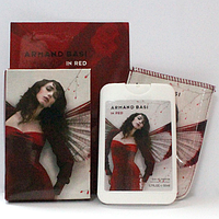 Женский парфюм-планшет в фоточехле Armand Basi In Red