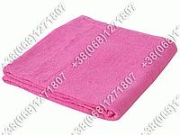 Махровая простынь 150х200 Узбекистан (темно-розовый цвет)