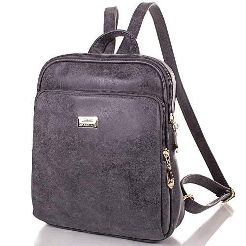Женский рюкзак из искусственной кожи ETERNO ETMS35240-9 серый