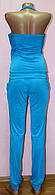 Костюм летний с брюками голубой, фото 1