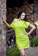 Стильное молодежное мини платье. Платье Неона.