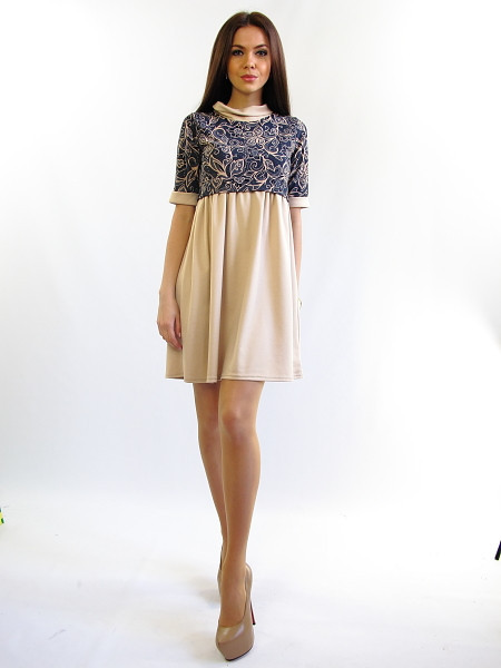 белорусский трикотаж платье сафари