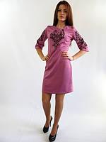 Стильное нарядное платье. Стефания лилового цвета.