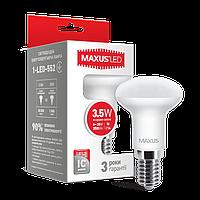 Лампа MAXUS R39 3,5W 4100K 220V E14, Яркий свет
