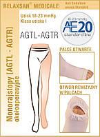 Моно колготки (на одну ногу) антиэмболические RelaxSan Standard (1 класса) Арт. M2380RA