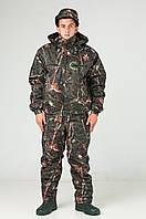 Костюм камуфляжный зимний для охоты и рыбалки Темный лес