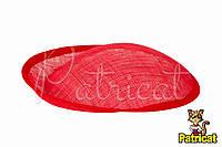 Основа Синамей для шляпки, вуалетки Алая 19x20 см