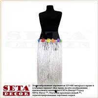 """Белая юбка """"Невеста"""" гавайская длинная  80 см."""