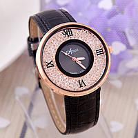 Женские кварцевые часы с плавающими стразами Mar de Cristal