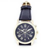 Кварцевые наручные часы Jeneva Schwarz Sovar