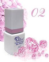 """Гель-Лак №002 Bold Lilac (насыщенный сиреневый) UV/LED """"Gelliant"""" 9 мл."""