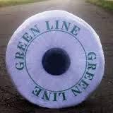 Лента для капельного полива Green Line 8 mil через 20 см (1000м)