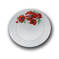 Тарелка фарфоровая 175мм