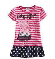 Платье для девочки Свинка Пеппа.