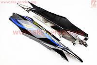 Пластик ―  задний боковой комплект на мопед SPORT50 MX50V Suzuki ,Viper